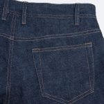 Selvedge denim Back pocket Classic Look