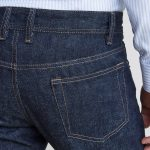 High Waist Double loop at Back, Selvedge Denim Jeans