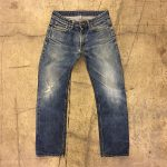 Distressed Vintage selvedge Denim Jeans