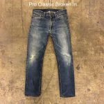 Selvedge Denim jeans with Whiskers