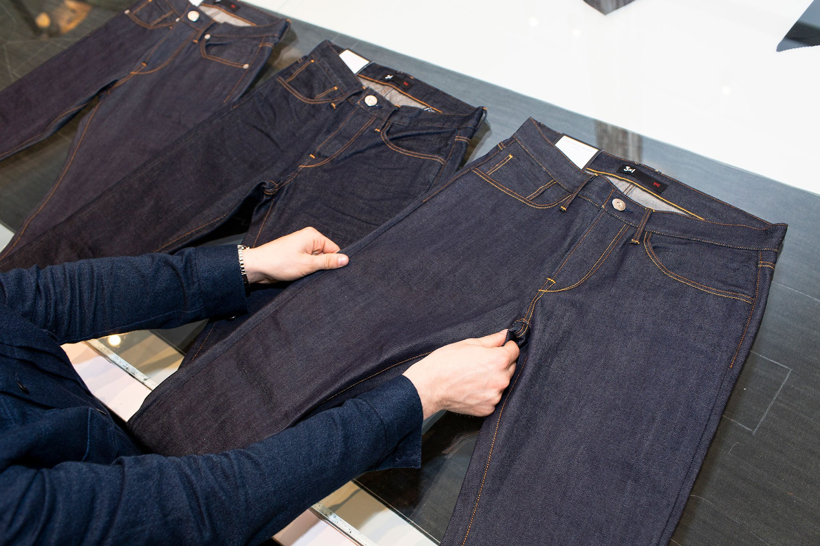 Bespoke jeans from Tailored-Jeans.com