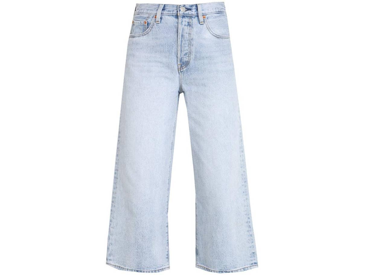 levis high rise wide leg custom tailored jeans
