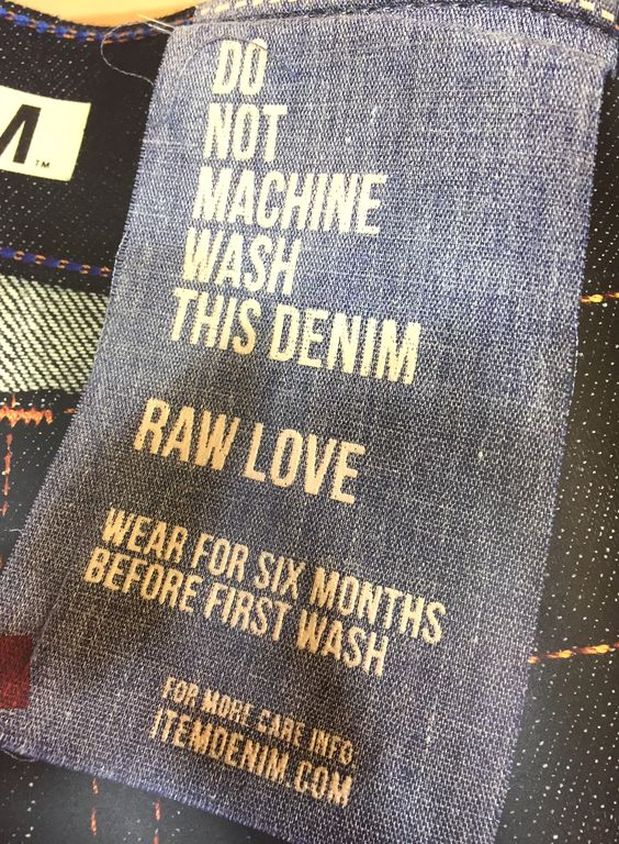 Raw denim and it's facts.