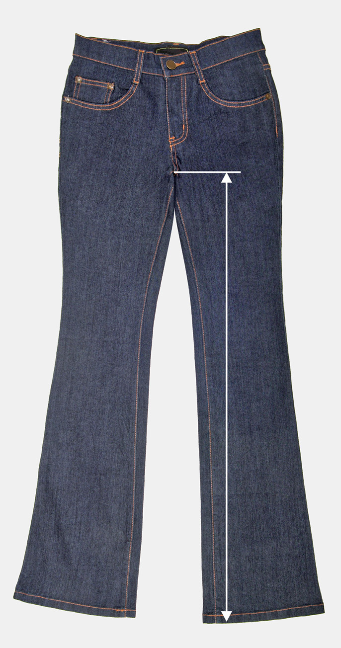 What is INSEAM ? Let see with Tailored jeans.