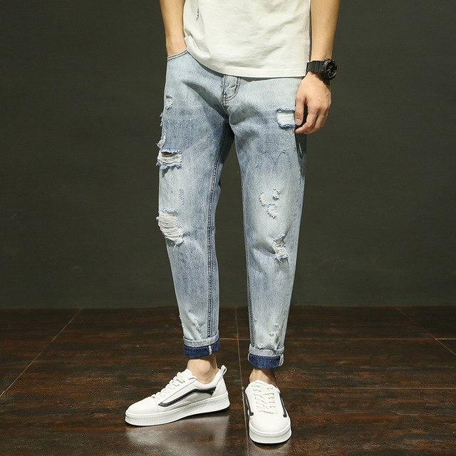 Guide On Ripped Jeans And How To Style Up Ripped Jeans For Men Tailored Jeans S Blog Tailored Jeans Com