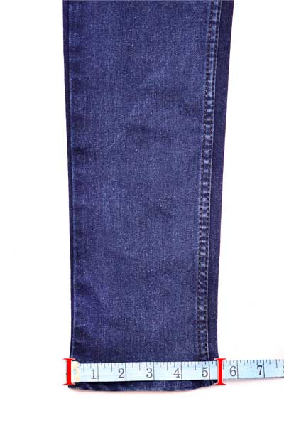 Garment Ancle Measurement