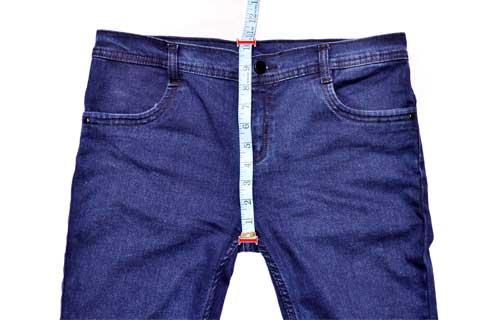 Garment Front Crotch Measurement