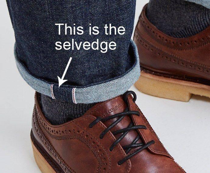 This is the Selvedge hemmed Bottom